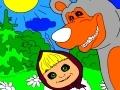masha og bjørnen på dansk